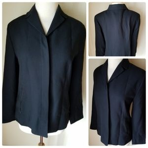 Uniform John Paul Richard Black Blazer Jacket